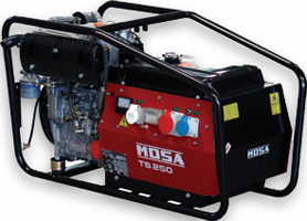 Mosa portable welder